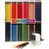 Colortime Buntstifte, Mine 5 mm, Sortierte Farben, 1 Set