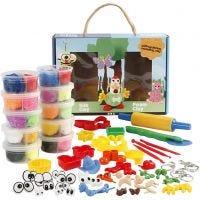 Modellier-Box mit Foam Clay® und Silk Clay®, 1 Set