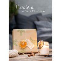 Inspirationsposter, Natur-Weihnachten, Größe 21x30+29,7x42+50x70 cm, 4 Stk/ 1 Pck