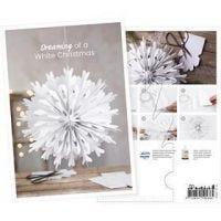 Produkt-Postkarte, Papierstern, A5, 14,8x21 cm, 1 Stk