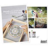 Produkt-Postkarte, Kreidemarker, A5, 14,8x21 cm, 1 Stk