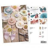 Produkt-Postkarte, Rosetten, A5, 14,8x21 cm, 1 Stk