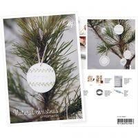 Produkt-Postkarte, Hängende Deko-Objekte aus selbsthärtendem Ton, A5, 14,8x21 cm, 1 Stk
