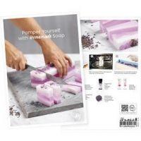 Produkt-Postkarte, Verwöhnen Sie sich mit selbstgemachter Seife, A5, 14,8x21 cm, 1 Stk