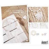 Produkt-Postkarte, Zeit für Hygge mit Makramée-Arbeiten, A5, 14,8x21 cm, 1 Stk