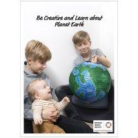 Inspirationsposter, Kreatives Lernen über den Planten Erde, 50x70, 29,7x42, 21x30 cm, 4 Stk/ 1 Pck