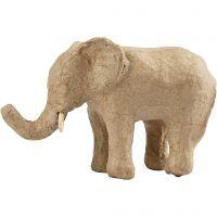 Elefant, H: 9 cm, L: 13 cm, 1 Stk