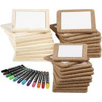 Kreativset Untersetzer, Standard-Farben, Zusätzliche Farben, 1 Set, 30 Stck.
