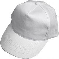 Cap, Größe 49,5-56 cm, Weiß, 1 Stk