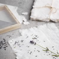 How to make handmade paper with effects