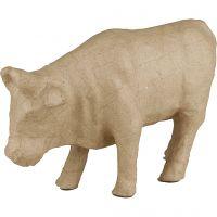 Kuh, H: 15 cm, L: 23 cm, 1 Stk