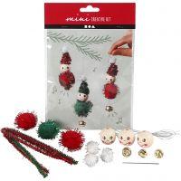 Mini-Kreativ-Set, Weihnachtsfee - Deko zum Aufhängen, 1 Set