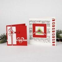 christmas card step by step