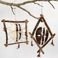 Gerahmte afrikanische Masken