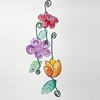 Transparente Blumen
