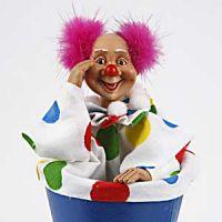Ein Push-Up Clown