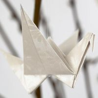 Vogel - gefaltet aus Papier