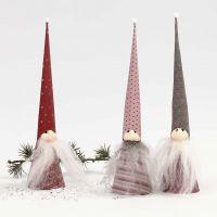 Kegel-Kobolde aus Vivi Gade Design Papier und Silk Clay