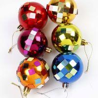 Verzierte Weihnachtskugeln