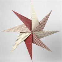 Origamistern aus handgeschöpftem Papier