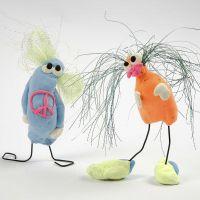 Witzige Silk Clay-Figuren