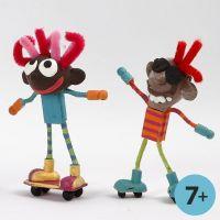 Coole Flexi-Figuren aus Silk Clay