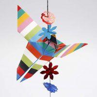 Schmetterling, gefaltet in Origamitechnik