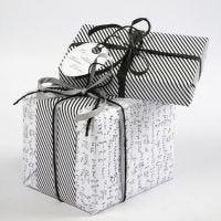 Geschenkverpackung mit Vivi Gade Design-Papier (Paris Serie)