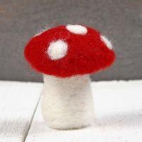 Ein gefilzter Pilz