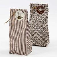 Geschenktüten aus Designpapier der Serie Oslo