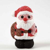 Nikolaus aus Styropor, ummantelt mit Foam Clay