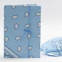 Notizbuch mit Bandana-Einband