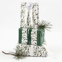 Geschenkverpackung mit Seidenpapier und Vivi Gade Design-Papier