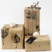 Geschenkverpackungen mit selbst bedrucktem Papier
