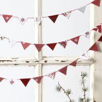 Wimpel-Girlande aus Vivi Gade Design-Papier
