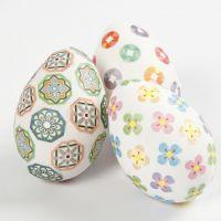 Mit Washi Tape verzierte Eier