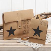 Verzieren von Taschen aus Leder-Imitat-Papier