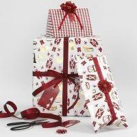 Kreativ verpackte Weihnachtsgeschenke