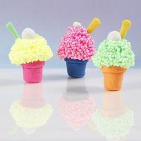 Eis-Muffins aus Soft Foam und Soft Clay Modelliermasse