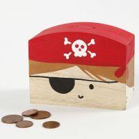 Piraten-Spardose