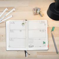 Ein Bullet Journal als Tagebuch
