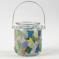 Mosaik auf Glas