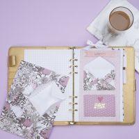 Umschlag/Hülle zum Verstauen kleiner Teile im Bullet Journal