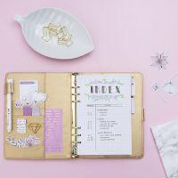 Inhaltsverzeichnis für Bullet Journal und Planner