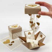 DIY: Explodierende Box als Hochzeitsdeko