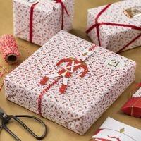 Geschenkverpackung mit Hampelmann