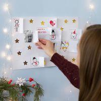 Bastel einen Adventskalender für Deine Familie oder Freunde