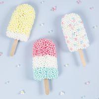 Eis-Lollies aus Foam Clay XL