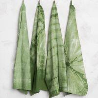 Batik mit Kordel