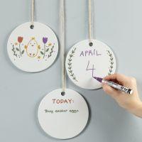 Mit dem Kreide-Marker auf Keramikplatten malen und schreiben